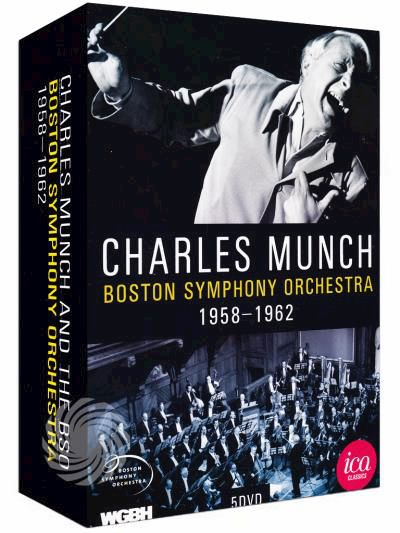 Charles Munch and The Boston Symphony Orchestra - 1958/1962 - DVD - thumb - MediaWorld.it