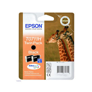 EPSON Twin Pack T011H Nero - thumb - MediaWorld.it