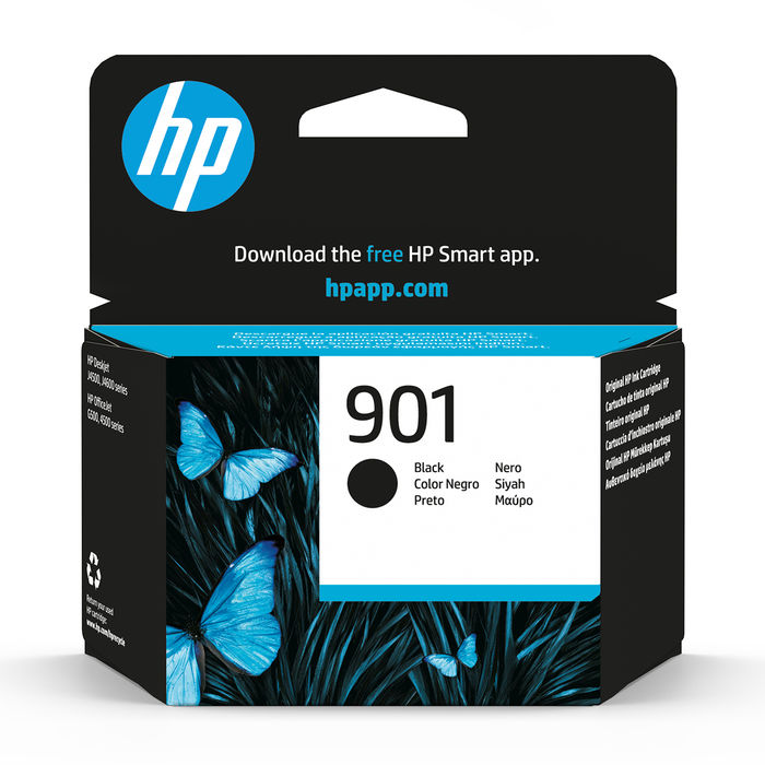 HP 901 Nero cartuccia d'inchiostro originale CC653AE - thumb - MediaWorld.it
