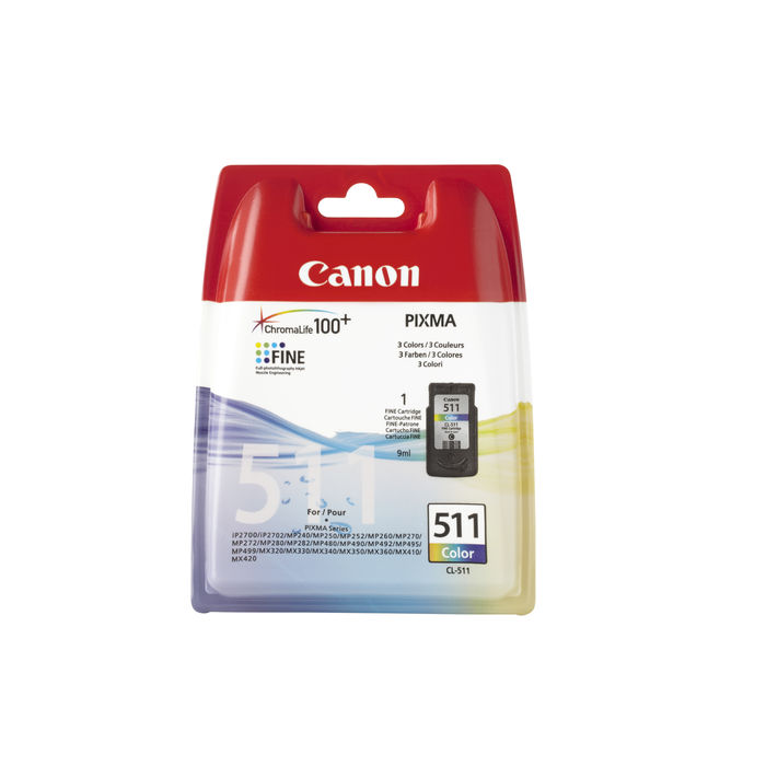 CANON CART_CL_511 COLORE - thumb - MediaWorld.it