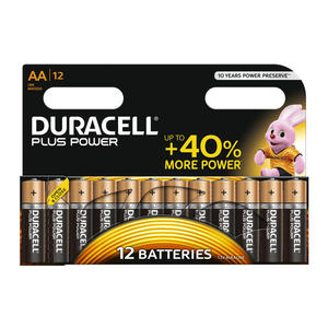 DURACELL Batteria Plus Power B12 Stilo AA 12pz - thumb - MediaWorld.it
