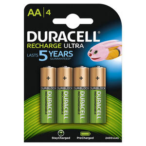 DURACELL Batterie Ricaricabili StayCharged Stilo AA x4pz - MediaWorld.it