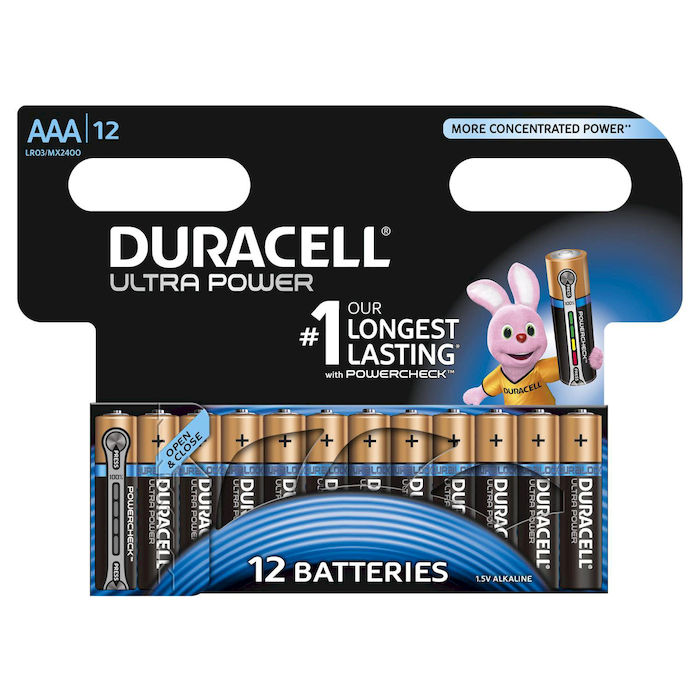 DURACELL Batteria Ultra Power Ministilo AAA 12pz - thumb - MediaWorld.it
