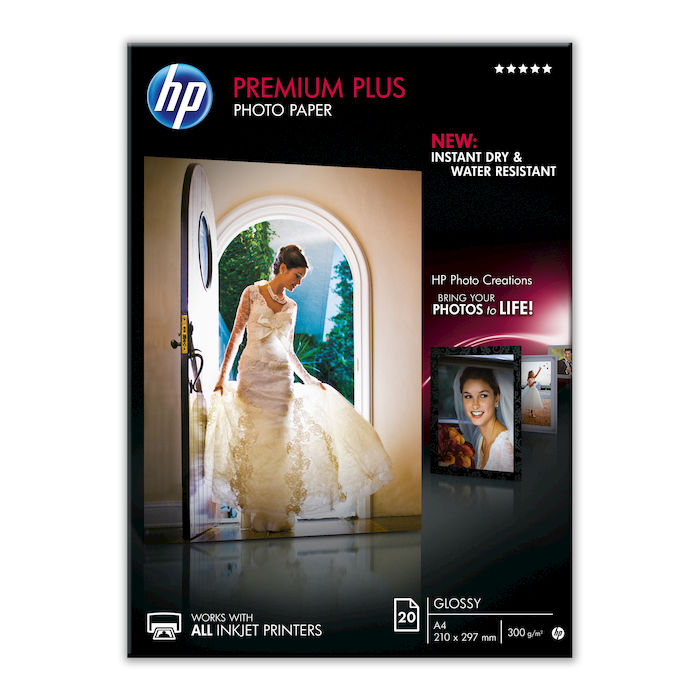 HP Premium Plus Photo Paper CR672A - thumb - MediaWorld.it