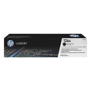 HP 126A Nero cartuccia toner originale LaserJet CE310A - thumb - MediaWorld.it
