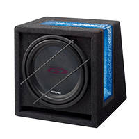 subwoofer per auto ALPINE SBG-1244BR su Mediaworld.it