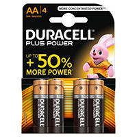 pile stilo alcaline DURACELL Batteria Plus Power B4 Stilo AA 4pz su Mediaworld.it