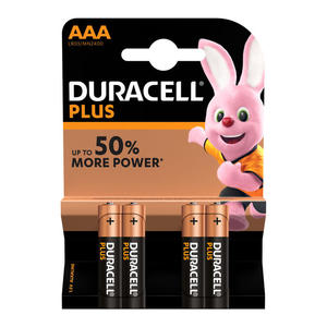 DURACELL Batteria Plus Power B4 Ministilo AAA 4pz - MediaWorld.it