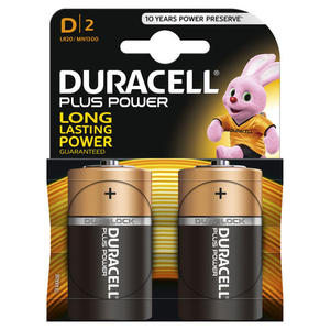 DURACELL PLUS POWER D DURACELL - MediaWorld.it