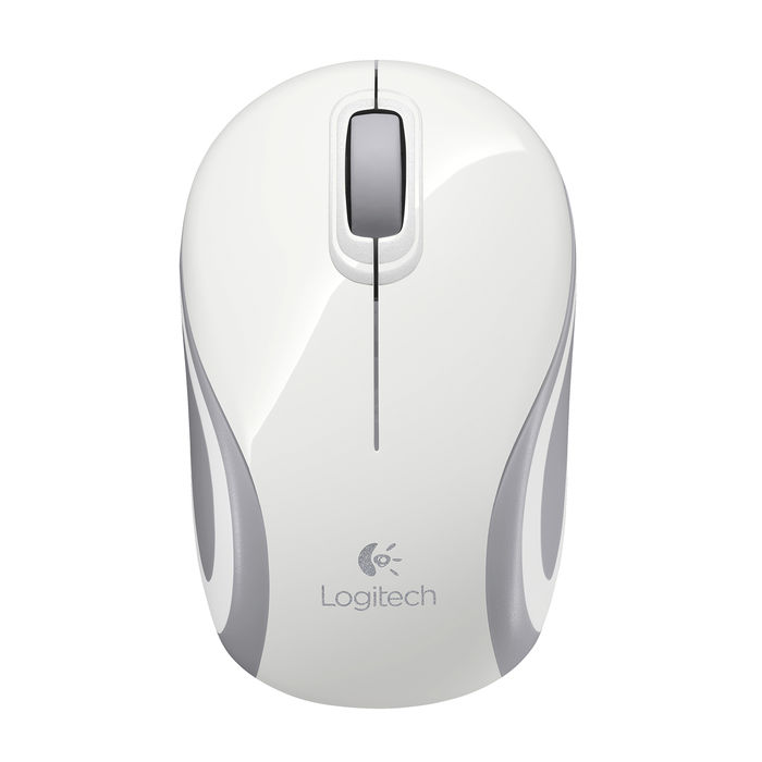 LOGITECH Wireless Mini Mouse M187 Bianco - thumb - MediaWorld.it