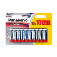 Batterie PANASONIC LR6EPS/20BW 10+10F su Mediaworld.it