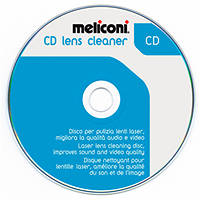 Disco per pulizia lenti laser lettori CD MELICONI CD Lens Cleaner su Mediaworld.it
