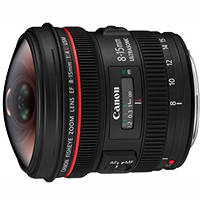 Obiettivi Reflex CANON EF 8-15MM F/4L FISHEYE US su Mediaworld.it