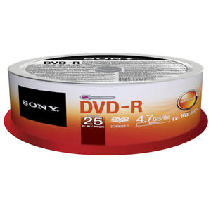 SONY Pack 25 pezzi DVD-R - MediaWorld.it