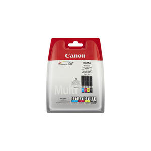 CANON CLI-551 BK/C/M/Y Multipack - MediaWorld.it