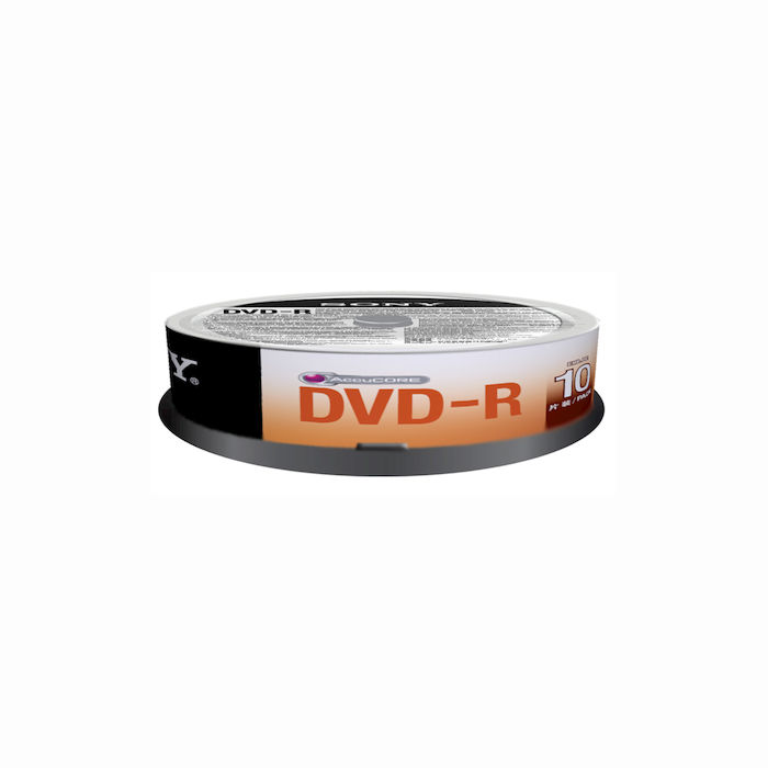 SONY DVD-R 4.7GB 16X 10P - thumb - MediaWorld.it