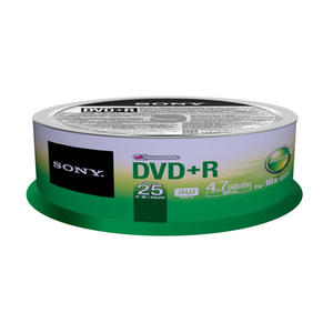 SONY 25DPR47SP DVD+R - MediaWorld.it