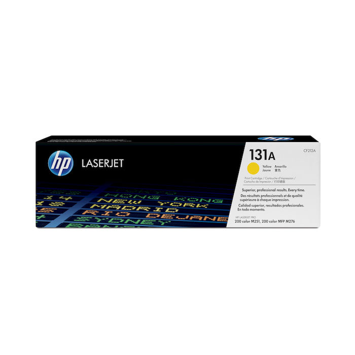 HP 131A Giallo cartuccia toner originale LaserJet CF212A - thumb - MediaWorld.it