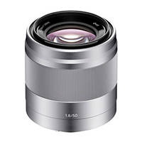 obiettivo fisso mirrorless SONY SEL-50F18 su Mediaworld.it