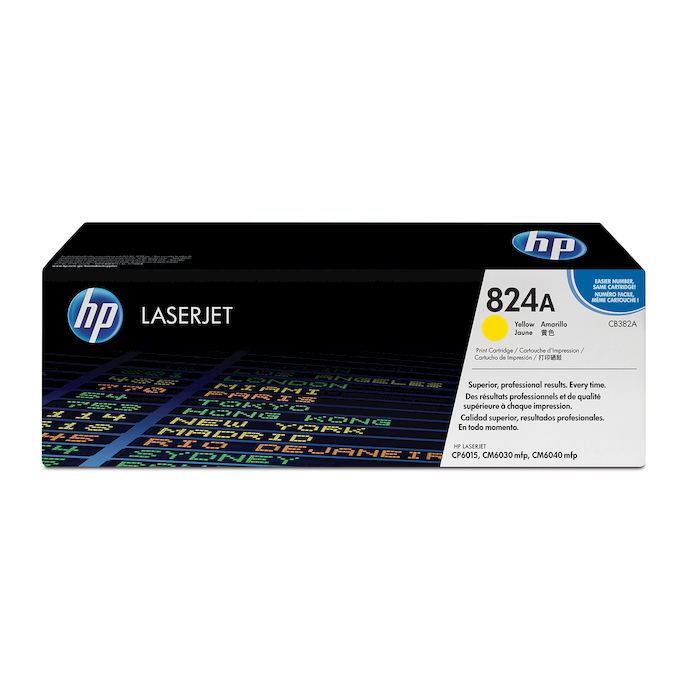 HP 824A Giallo cartuccia toner originale LaserJet CB382A - thumb - MediaWorld.it