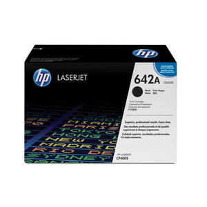 HP 642A Nero cartuccia toner originale LaserJet CB400A - thumb - MediaWorld.it
