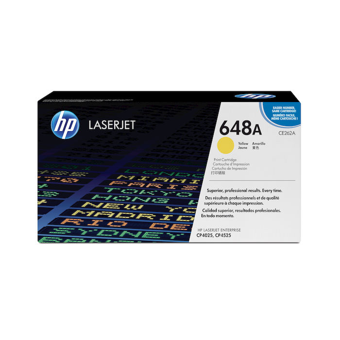 HP 648A Giallo cartuccia toner originale LaserJet CE262A - thumb - MediaWorld.it