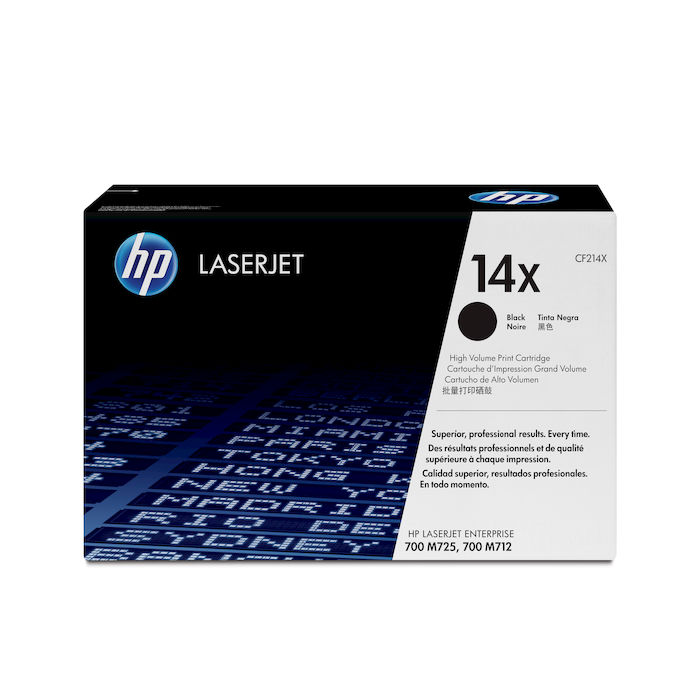 HP 14X Nero cartuccia toner originale LaserJet ad alta capacità CF214X - thumb - MediaWorld.it