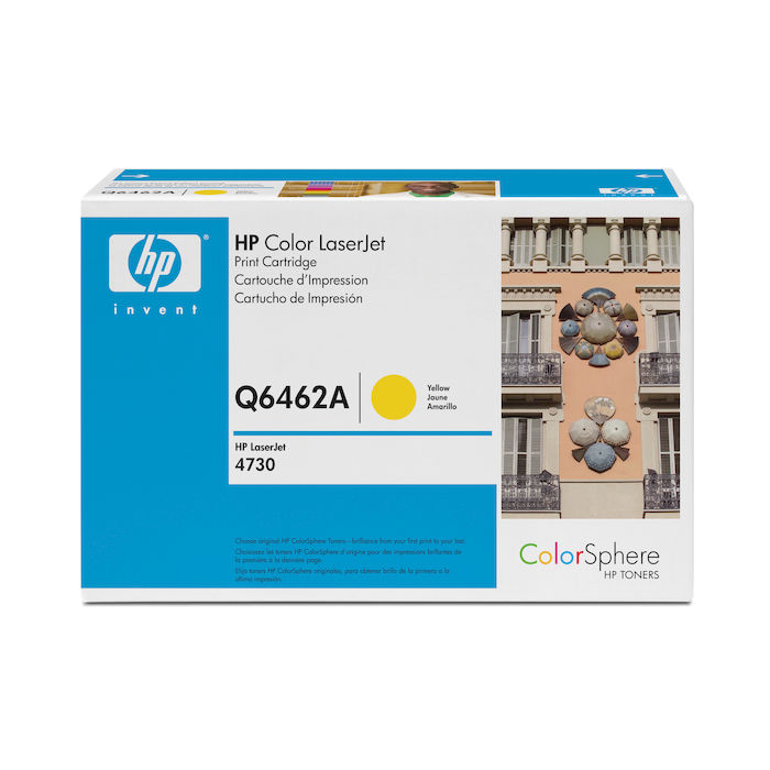 HP 644A Giallo cartuccia toner LaserJet Q6462A - thumb - MediaWorld.it