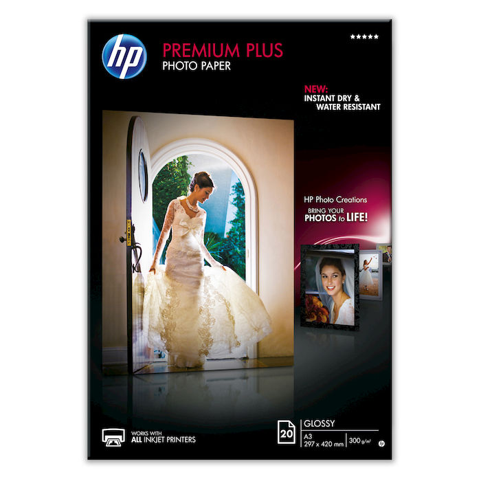 HP Premium Plus A3 CR675A - thumb - MediaWorld.it