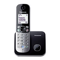 Telefoni Cordless PANASONIC KX-TG6811 Black su Mediaworld.it