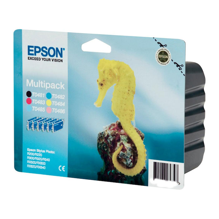 EPSON Cavalluccio T0487 Multipack - thumb - MediaWorld.it