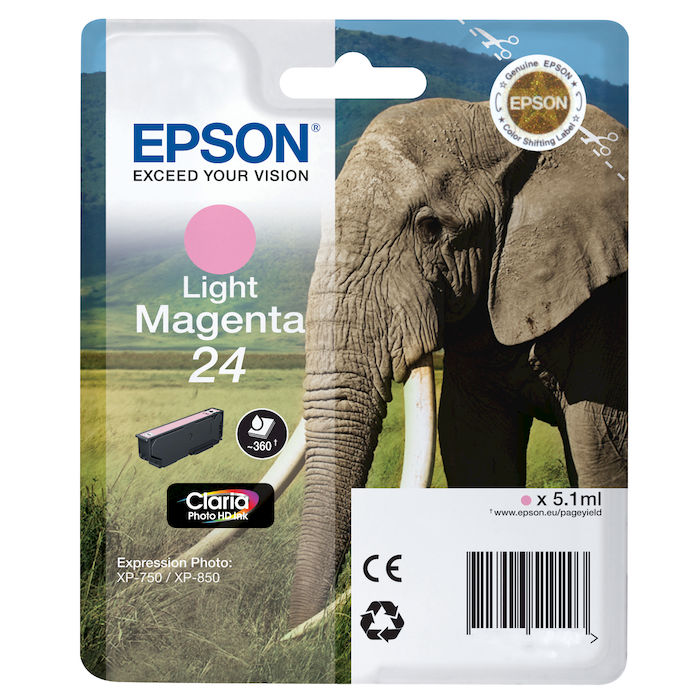 EPSON Elefante 24 Light Magenta - thumb - MediaWorld.it
