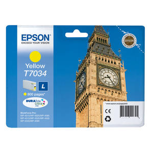 EPSON Big Ben T7034L Giallo - thumb - MediaWorld.it