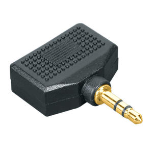 HAMA Adattatore Jack 3.5 mm M/2 jack 3.5 mm F 7123373 - thumb - MediaWorld.it