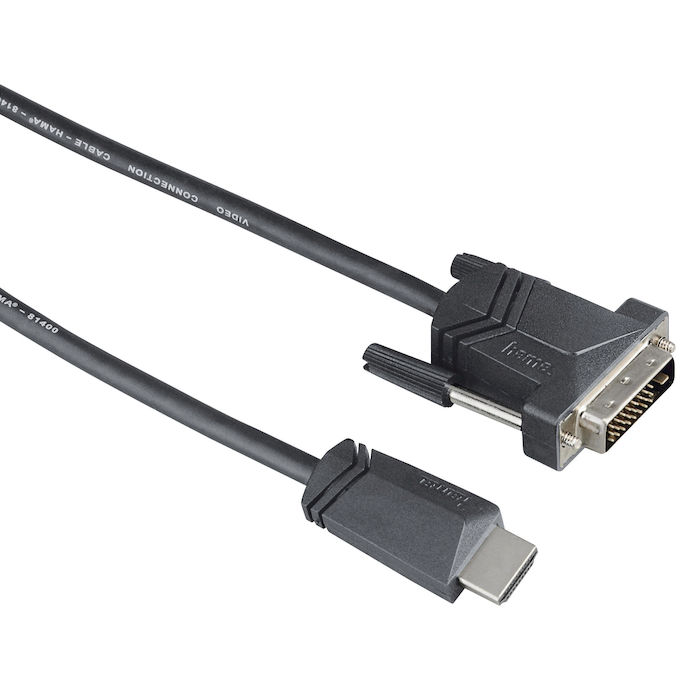 HAMA Cavo HDMI M/DVI/D M 1,5 metri 7122130 - thumb - MediaWorld.it