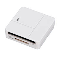 Lettore memory cards USB 2.0 'ALL IN 1' HAMA Lettore memory cards ALL IN 1 bianco 7094125 su Mediaworld.it