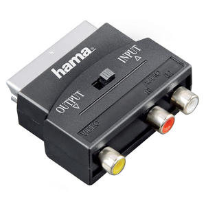 HAMA Adattatore 3 RCA F/Scart M, in-out - MediaWorld.it