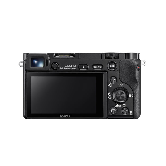 SONY Alpha ILCE-6000L Black - thumb - MediaWorld.it