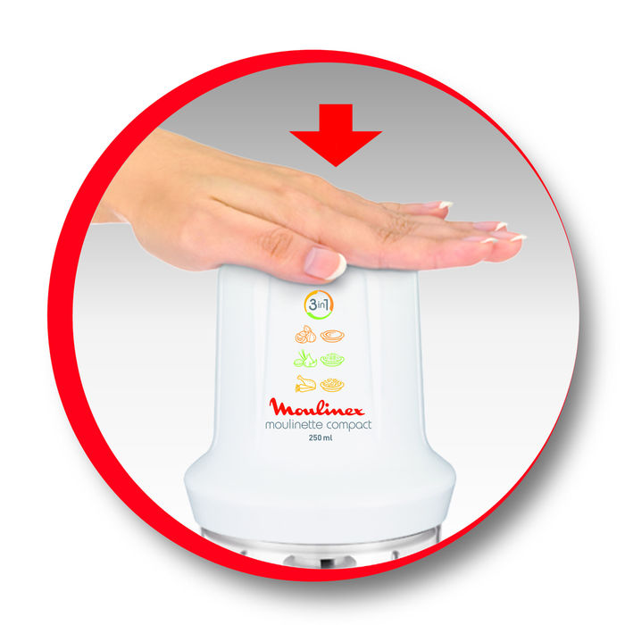 MOULINEX Moulinette Compact DJ3051 - thumb - MediaWorld.it