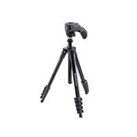 Treppiede Compact Action con testa joystick MANFROTTO MKCOMPACTACN-BK su Mediaworld.it