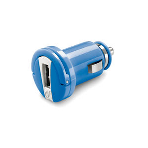 CELLULAR LINE Carica Batterie da Auto Micro USB Blue - thumb - MediaWorld.it