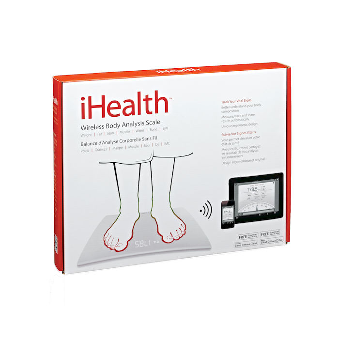 IHEALTH HS5 bilancia pesapersona Wireless - PRMG GRADING KNBN - SCONTO 22,50% - thumb - MediaWorld.it