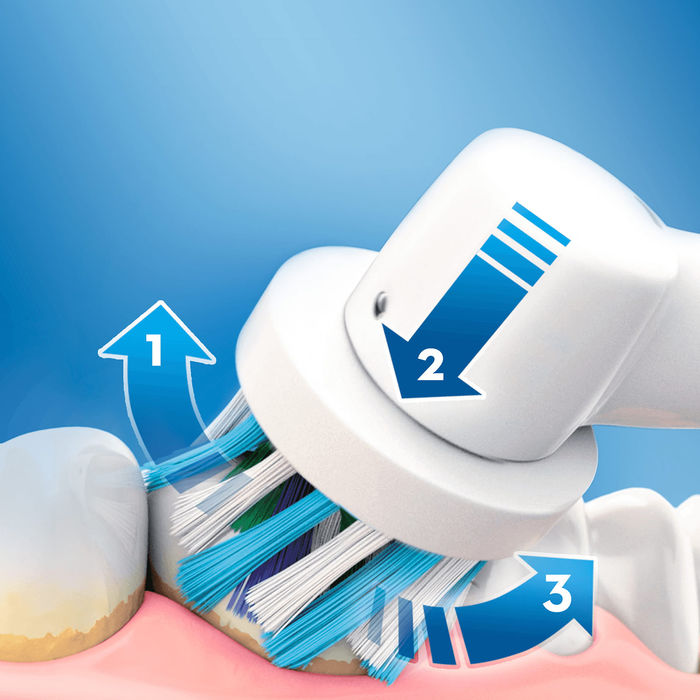 ORAL-B Pro 600 Orange - thumb - MediaWorld.it