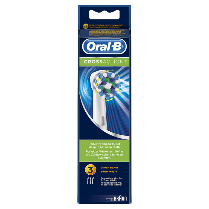 BRAUN Oral B Refill Cross Action EB 50-3 - thumb - MediaWorld.it