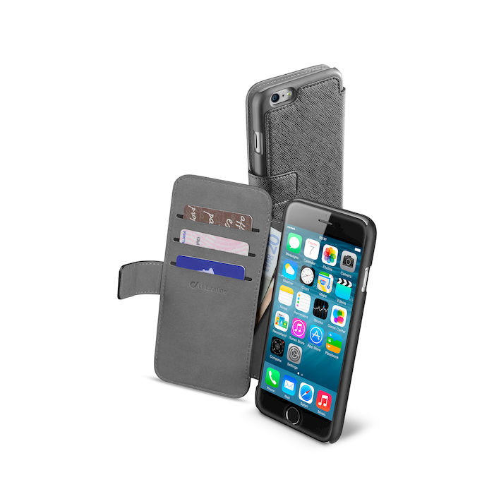 CELLULAR LINE Custodia Book Agenda per iPhone 6 Nero - thumb - MediaWorld.it