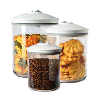 Set di 3 barattoli tondi FOODSAVER Set 3 Barottoli su Mediaworld.it