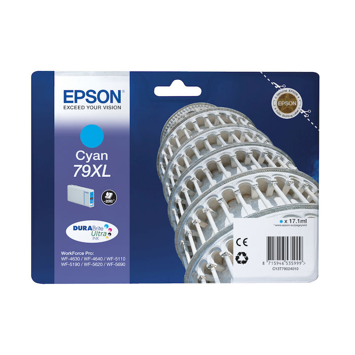 EPSON Torre di Pisa 79XL Ciano - thumb - MediaWorld.it