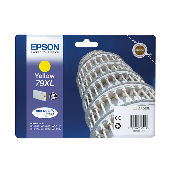 EPSON Torre di Pisa 79XL Giallo - thumb - MediaWorld.it