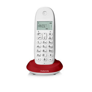 MOTOROLA C1001L Red - MediaWorld.it