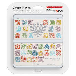 NINTENDO Cover Plates Monster Hunter Bianca